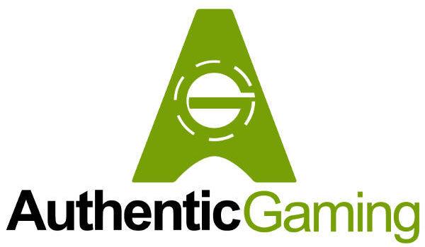 authentic gaming logo