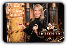 lightning dice presenter