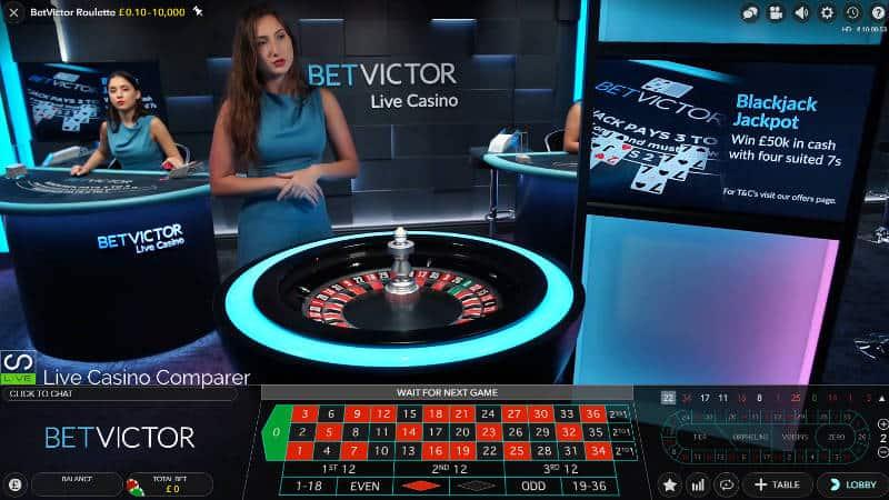 betvictor Live Casino Studio