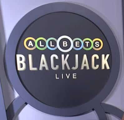 allbets live blackjack logo