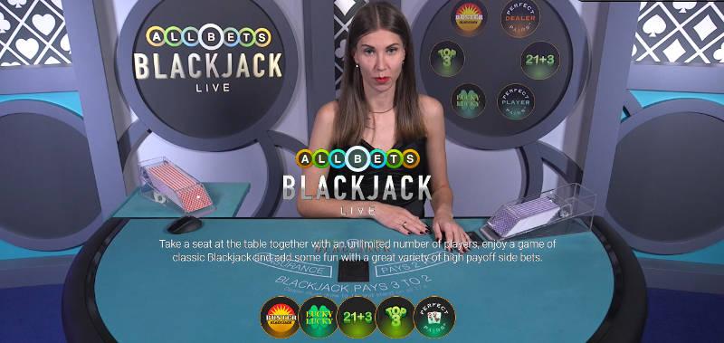 playtech allbets blackjack live