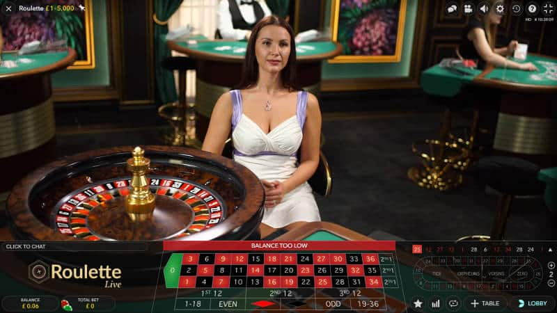 studio european roulette table