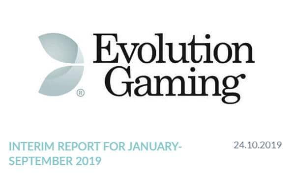 evolution interim report Sept 2019