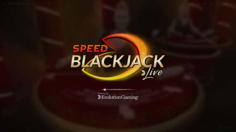 evolution live speed blackjack