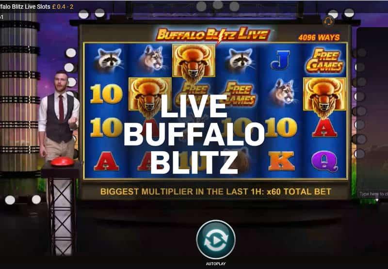 playtech live Buffalo Blitz