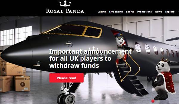 royal panda leaves uk