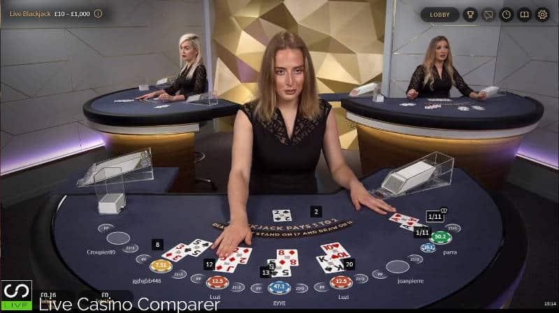 netent blackjack gold