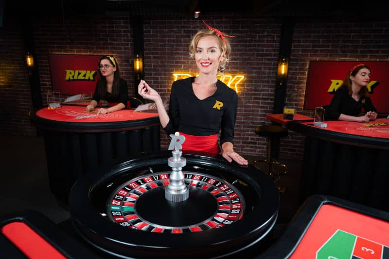 rizk live casino dedicated roulette wheel