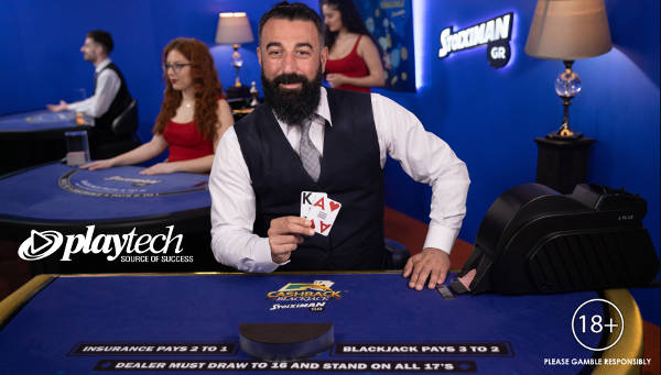 playtech live blackjack cashback