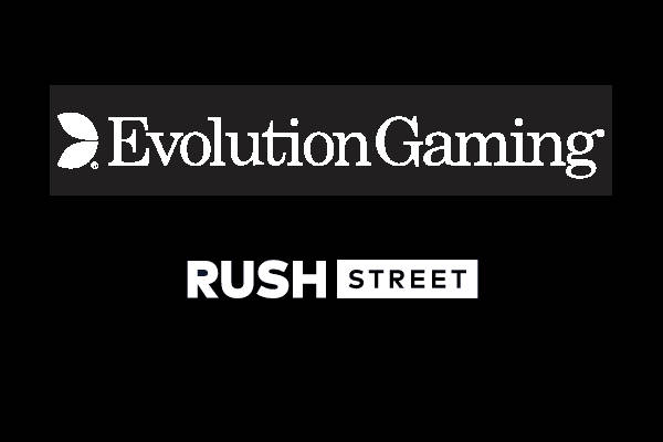 evolution gaming rush street