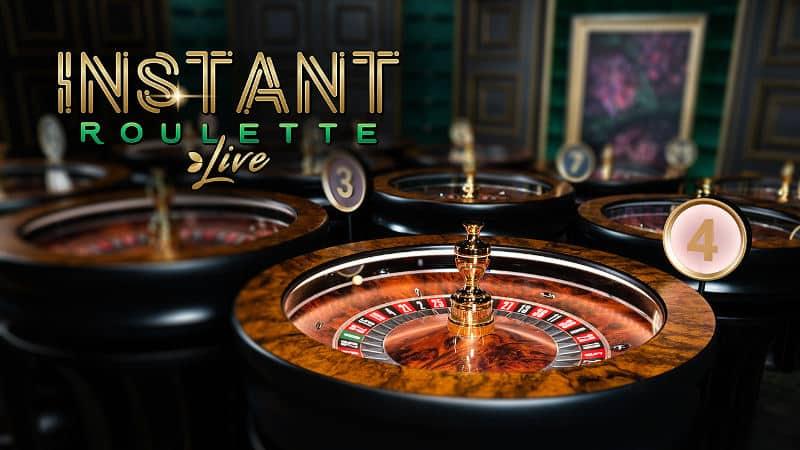 evolution live instant roulette