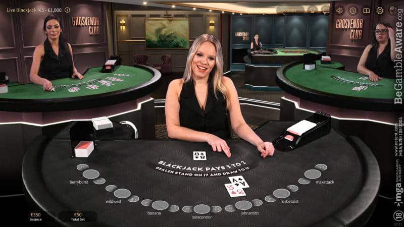 grosvenor netent casino