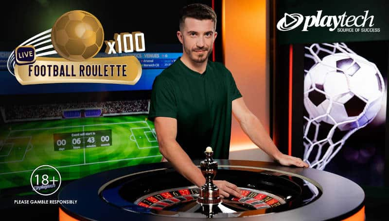 playtech live football roulette