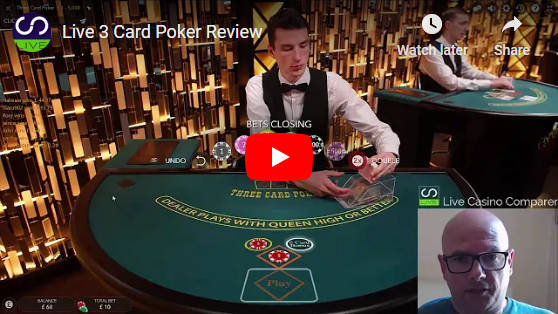 three card poker video