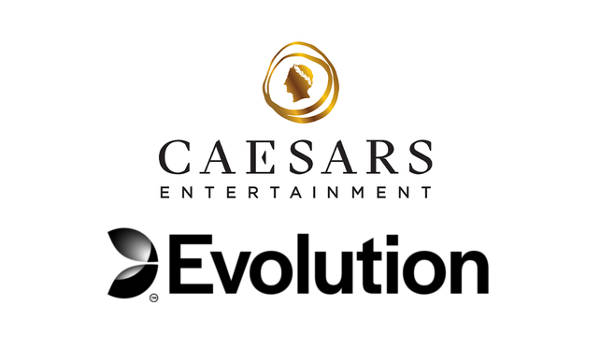 evolution Caesars launch live casino studio
