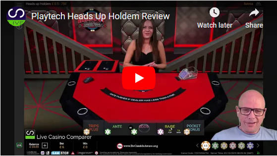 heads up holdem video