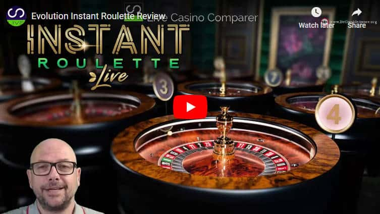 instant roulette video review