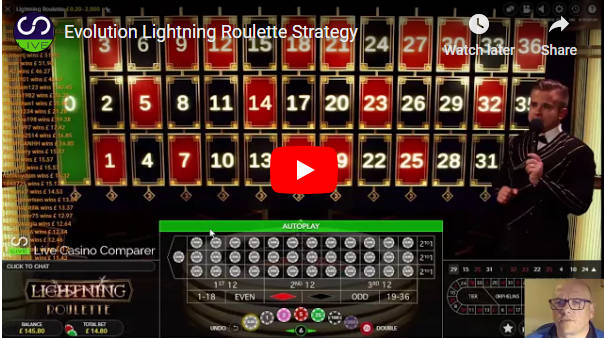 lightning roulette strategy video