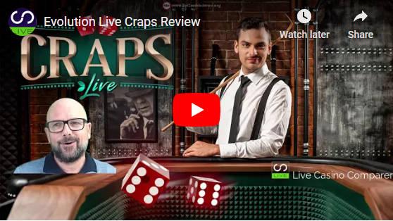 evolution live craps video