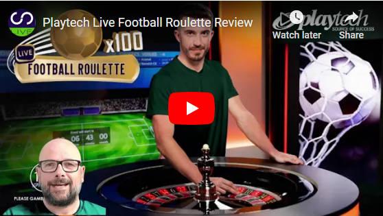 playtech football roulette video