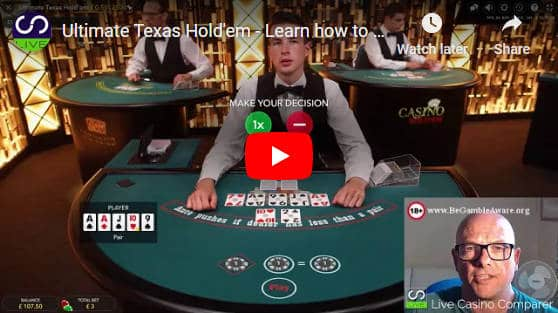 ultimate texas holdem video