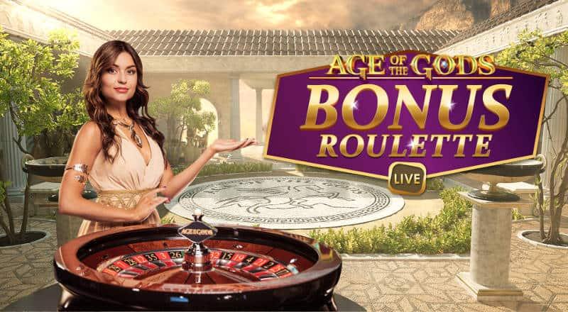 age of gods bonus roulette live