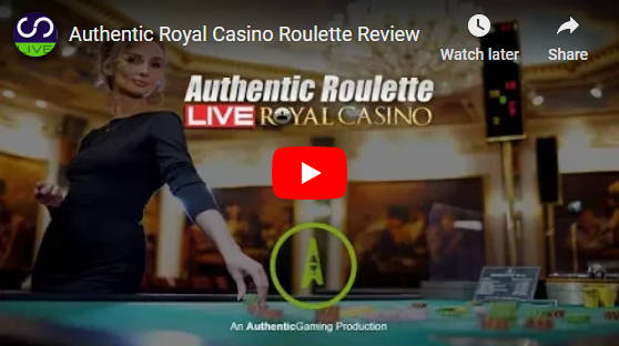 Authentic Royal Casino Video