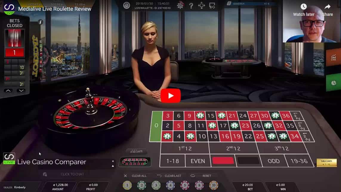 liveg24 roulette video