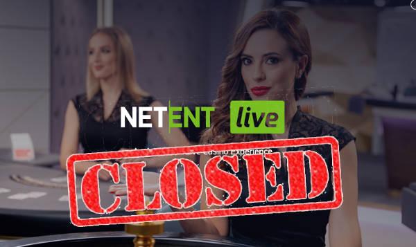 netent live closed