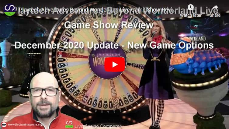 playtech adventures beyond wonderland video new features