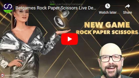 betgames rock paper scissors video