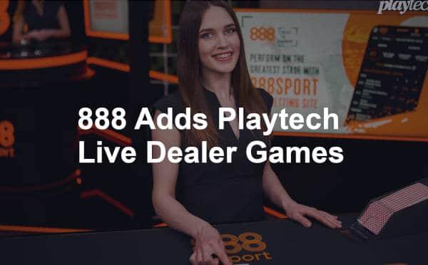 888 add playtech live dealer games