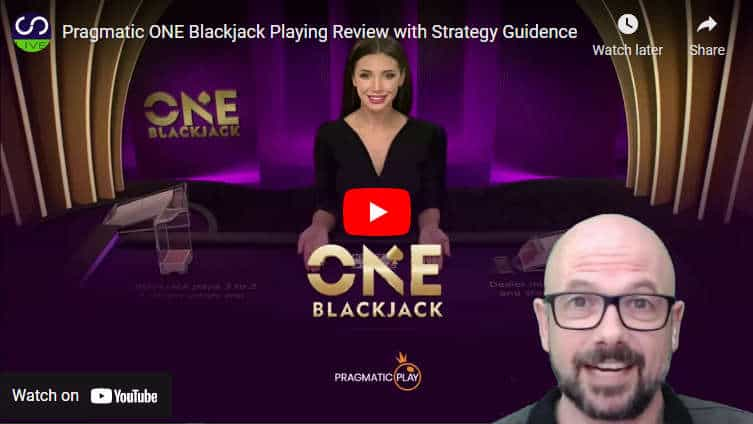 one blackjack youtube review