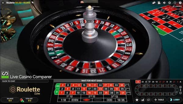 closeup of roulette wheel in pennsylvania