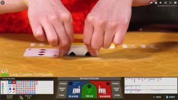 Evolution Squeeze Baccarat - full screen