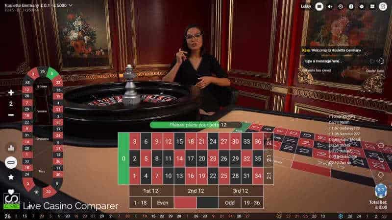 pragmatic play german roulette