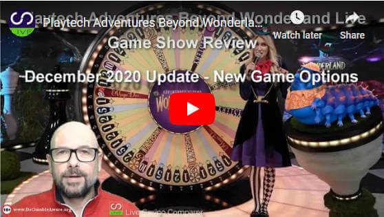 adventures beyond wonderland live - December 2020 Video review