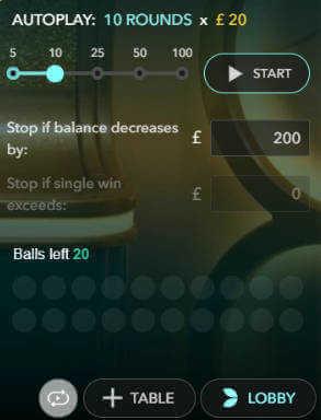 live mega ball auto play