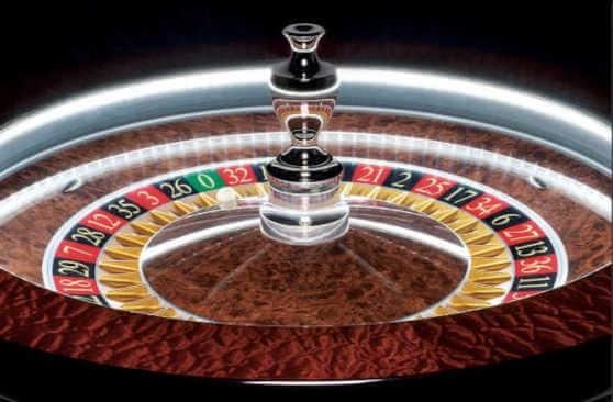 slingshot auto roulette close up