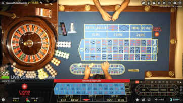 casino malta roulette overhead view