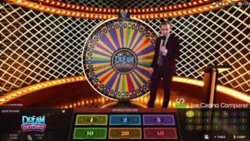 live wheel of fortunes - Dreamcatcher