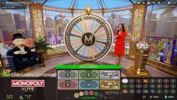 monopoly live dream catcher edition