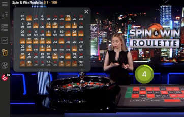 spin & win Roulette