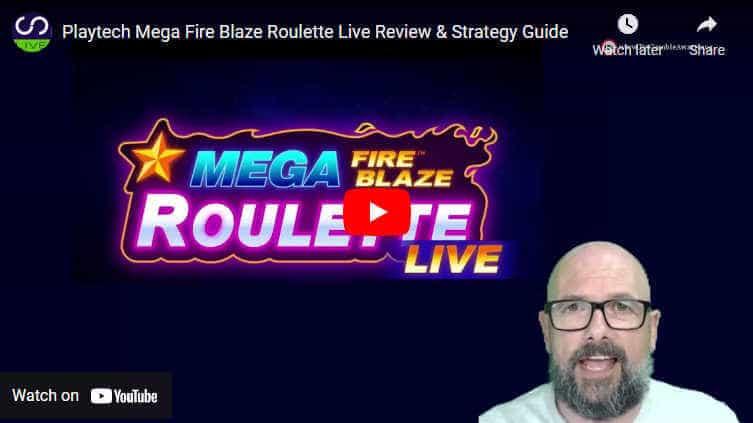 mega Fire Blaze Roulette video review