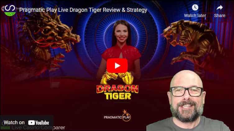 pragmatic play live dragon tiger video review