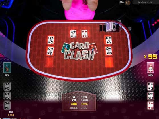 card clash 95x win!