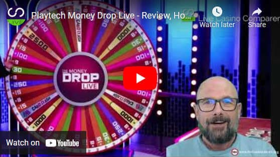 the money drop live video review