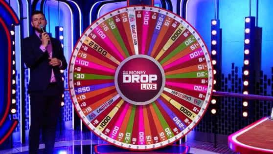 money drop live wheel