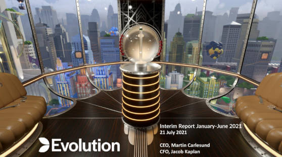 evolution 2021 half year results
