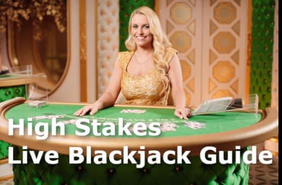 High Stakes Live Blackjack